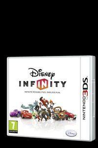 Portada oficial de Disney Infinity para Nintendo 3DS