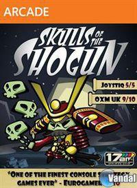 Portada oficial de Skulls of the Shogun XBLA para Xbox 360