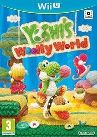 Portada oficial de Yoshi's Woolly World para Wii U