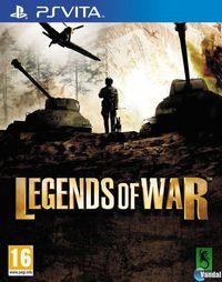 Portada oficial de History Legends of War para PSVITA