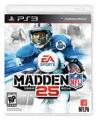 Portada oficial de Madden NFL 25 para PS3