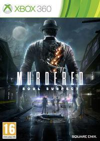 Portada oficial de Murdered: Soul Suspect para Xbox 360