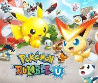 Portada oficial de Pokémon Rumble U eShop para Wii U