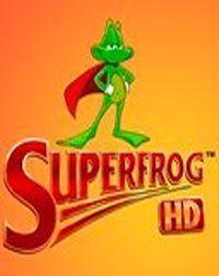 Portada oficial de Superfrog HD PSN para PS3