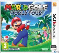 Portada oficial de Mario Golf: World Tour para Nintendo 3DS