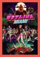 Portada oficial de Hotline Miami para PS3