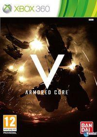 Portada oficial de Armored Core: Verdict Day para Xbox 360