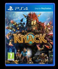 Portada oficial de Knack para PS4