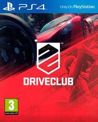 Portada oficial de DriveClub para PS4