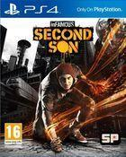 Portada oficial de inFamous: Second Son para PS4