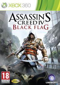Portada oficial de Assassin's Creed IV: Black Flag para Xbox 360