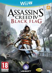 Portada oficial de Assassin's Creed IV: Black Flag para Wii U