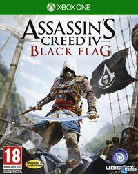 Portada oficial de Assassin's Creed IV: Black Flag para Xbox One