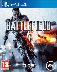 Portada oficial de Battlefield 4 para PS4