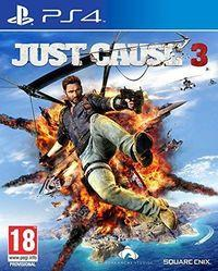 Portada oficial de Just Cause 3 para PS4