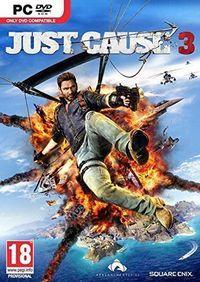 Portada oficial de Just Cause 3 para PC