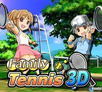 Portada oficial de Family Tennis 3D eShop para Nintendo 3DS