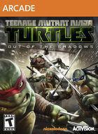 Portada oficial de Teenage Mutant Ninja Turtles: Desde las sombras XBLA para Xbox 360
