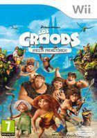 Portada oficial de Los Croods: Fiesta Prehist�rica para Wii