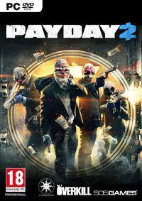 Portada oficial de Payday 2 para PC