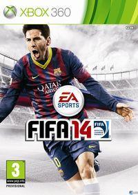 Portada oficial de FIFA 14 para Xbox 360