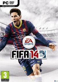 Portada oficial de FIFA 14 para PC
