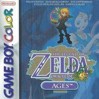 Portada oficial de The Legend of Zelda: Oracle of Ages CV para Nintendo 3DS