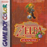 Portada oficial de The Legend of Zelda: Oracle of Seasons CV para Nintendo 3DS