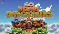 Portada oficial de Go Home Dinosaurs! para PC