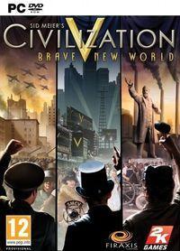 Portada oficial de Civilization V: Cambia el Mundo para PC