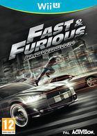 Portada oficial de Fast & Furious: Showdown para Wii U
