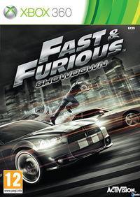 Portada oficial de Fast & Furious: Showdown para Xbox 360