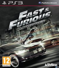 Portada oficial de Fast & Furious: Showdown para PS3