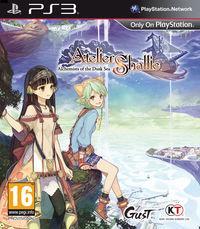 Portada oficial de Atelier Shallie: Alchemists of the Dusk Sea para PS3