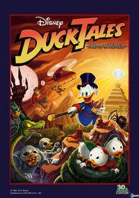 Portada oficial de DuckTales Remastered para PS3