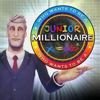 Portada oficial de ¿Quién quiere ser millonario? Junior PSN para PS3