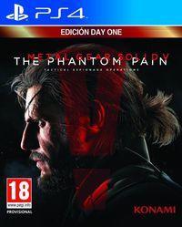 Portada oficial de Metal Gear Solid V: The Phantom Pain para PS4
