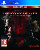 Portada oficial de Metal Gear Solid V: The Phantom Pain para PS4