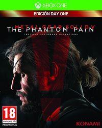 Portada oficial de Metal Gear Solid V: The Phantom Pain para Xbox One
