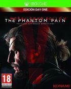 Portada oficial de de Metal Gear Solid V: The Phantom Pain para Xbox One