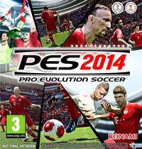 Portada oficial de Pro Evolution Soccer 2014 para PC