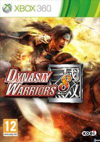 Portada oficial de Dynasty Warriors 8 para Xbox 360