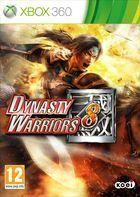Portada oficial de Dynasty Warriors 8 para Xbox 360