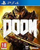 Portada oficial de DOOM para PS4