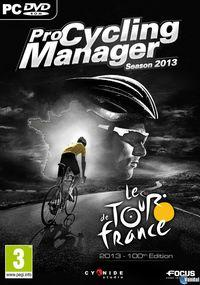 Portada oficial de Pro Cycling Manager 2013 para PC