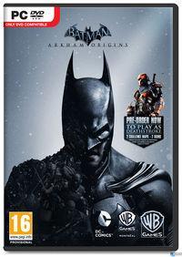 Portada oficial de Batman: Arkham Origins para PC