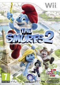 Portada oficial de Los Pitufos 2 para Wii