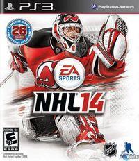 Portada oficial de NHL 14 para PS3
