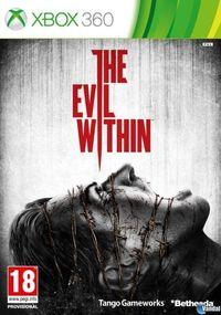 Portada oficial de The Evil Within para Xbox 360