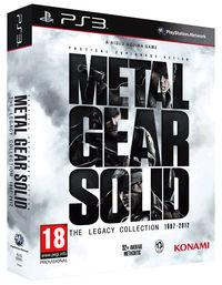 Portada oficial de Metal Gear Solid: The Legacy Collection para PS3